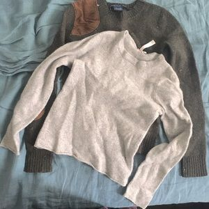 2 felted sweaters